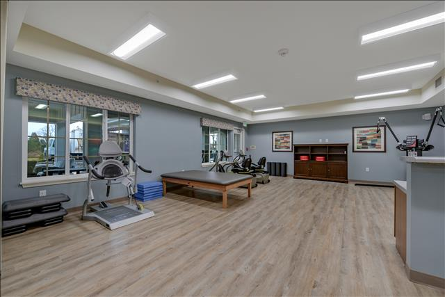 Fitness center at The Landing of Southampton