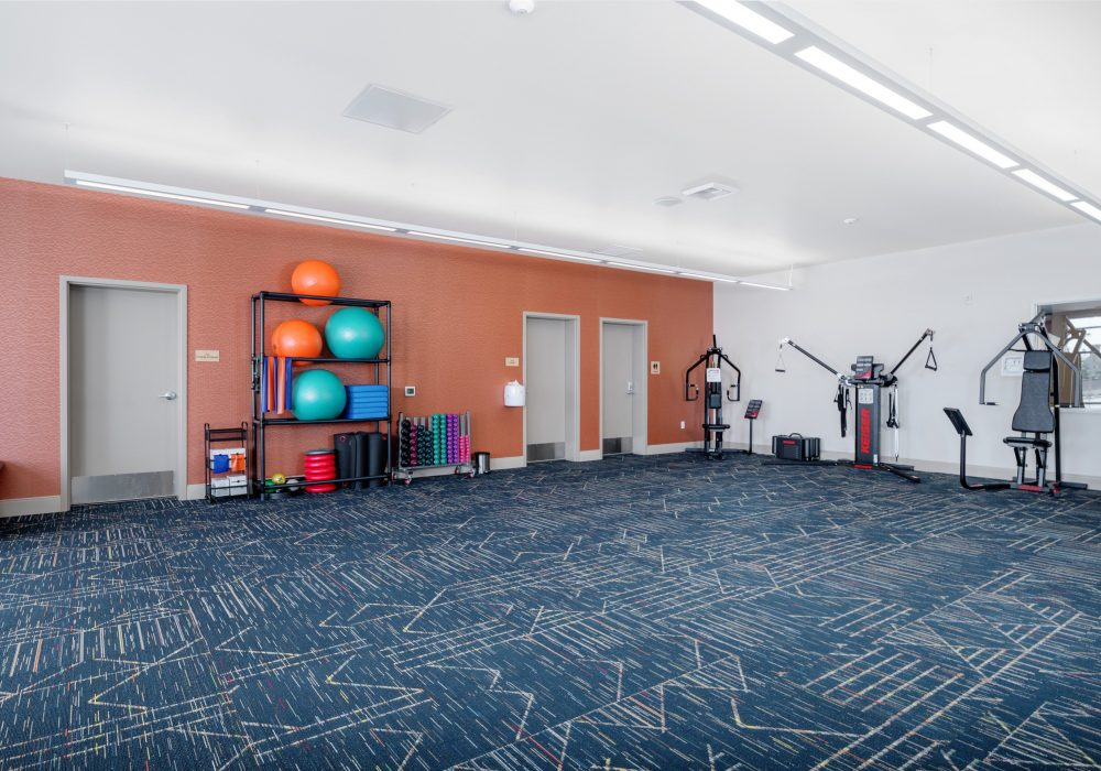 Fitness Room at The Ackerly at Sherwood