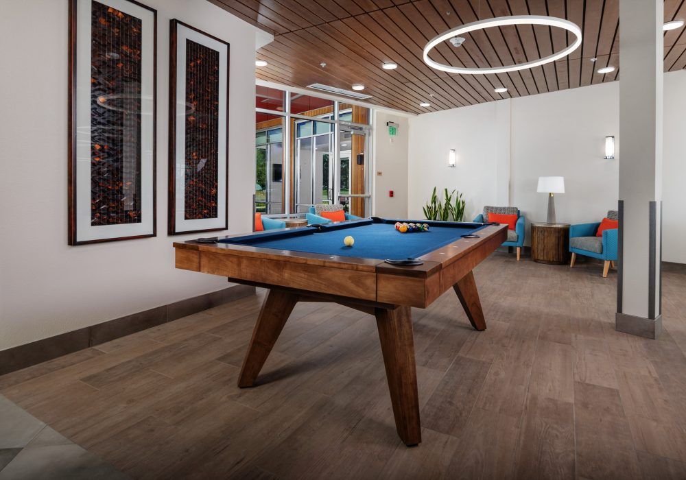 Game Room at The Ackerly at Sherwood
