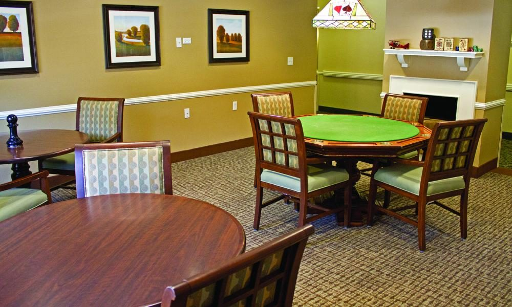 Game Room at The Linden at Woodbridge