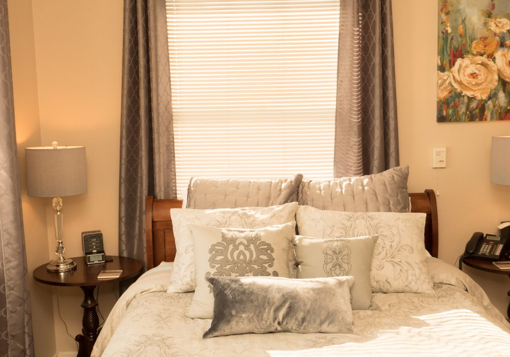 Bedroom - Heritage Estates Assisted Living Apartments