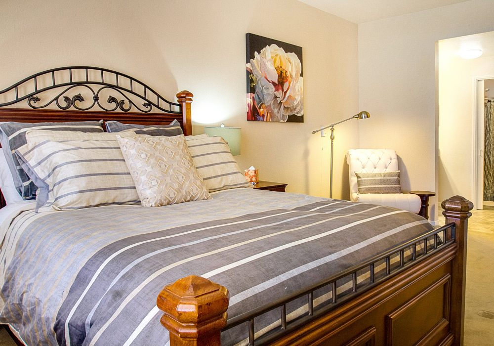 Master Bedroom - Heritage Estates Assisted Living Apartments