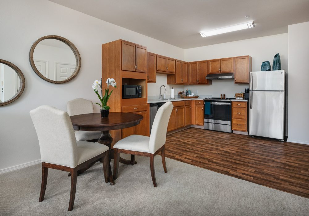 One bedroom kitchen at Russellville Park