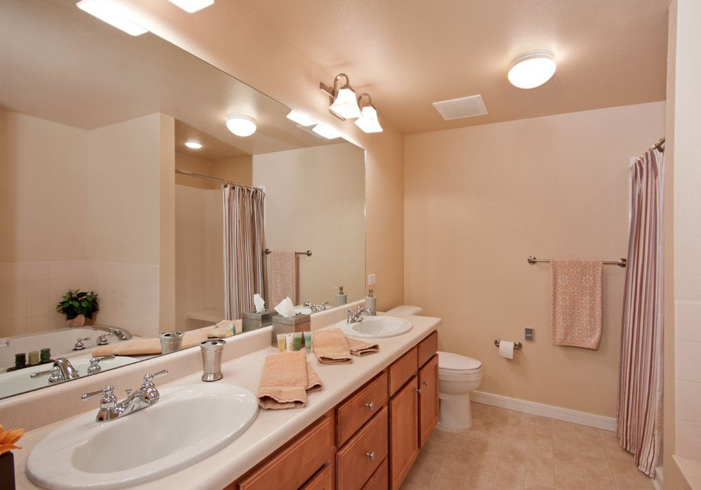 Bathroom - MacKenzie Place Senior Apartments Colorado Springs