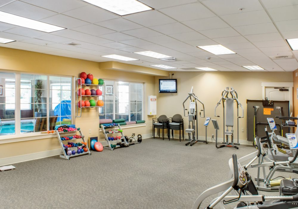 PrimeFit Gym - MacKenzie Place Retirement Community Colorado Springs