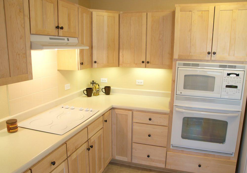 Apartment Kitchen - MacKenzie Place Retirement Community Fort Collins