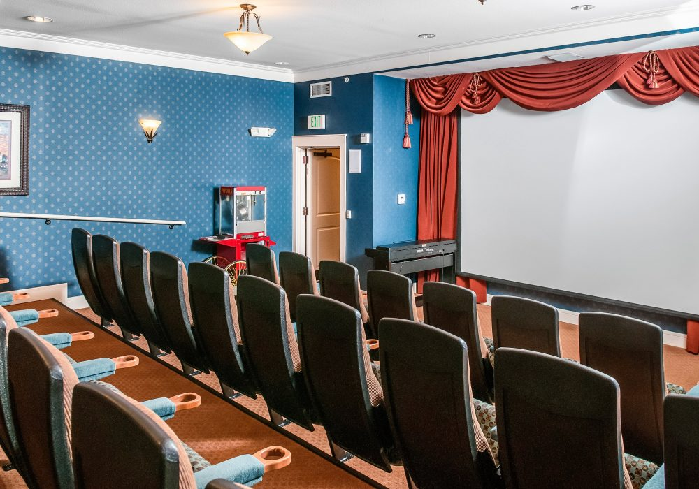 Theater - MacKenzie Place Retirement Community Fort Collins