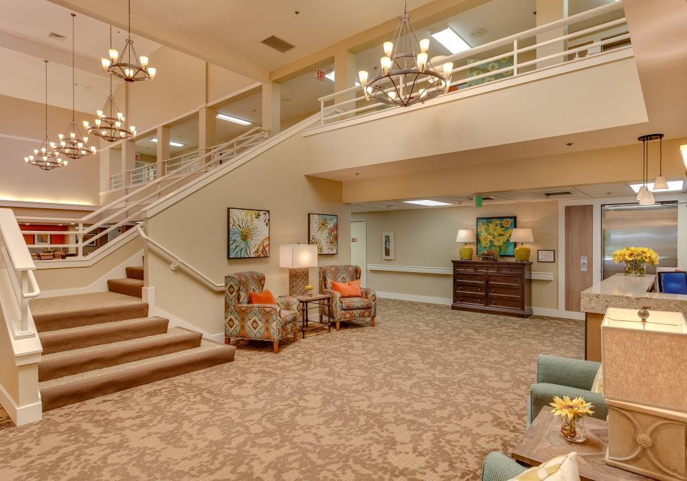 Lobby - Markham House Senior Living