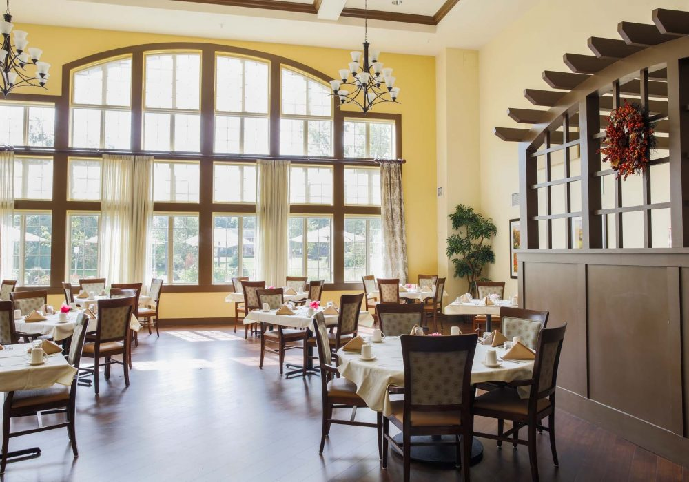 Dining Room View at The Village at Mill Landing