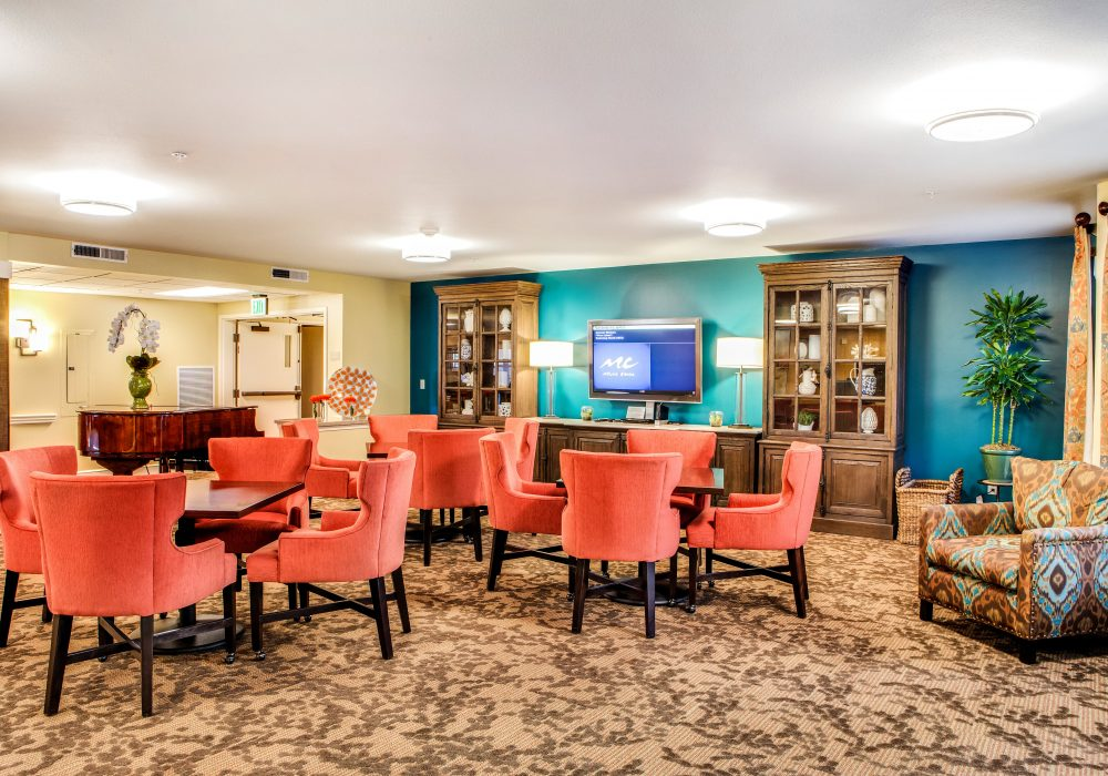 Game Room - Springfield Place Senior Living
