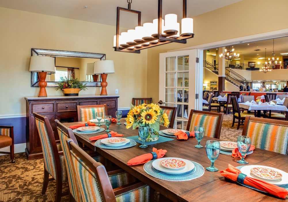 Private Dining - Springfield Place Senior Living