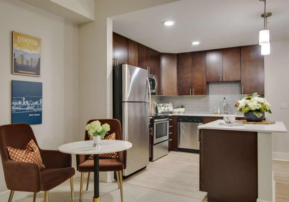 The Carillon at Belleview Station Apartment Kitchen