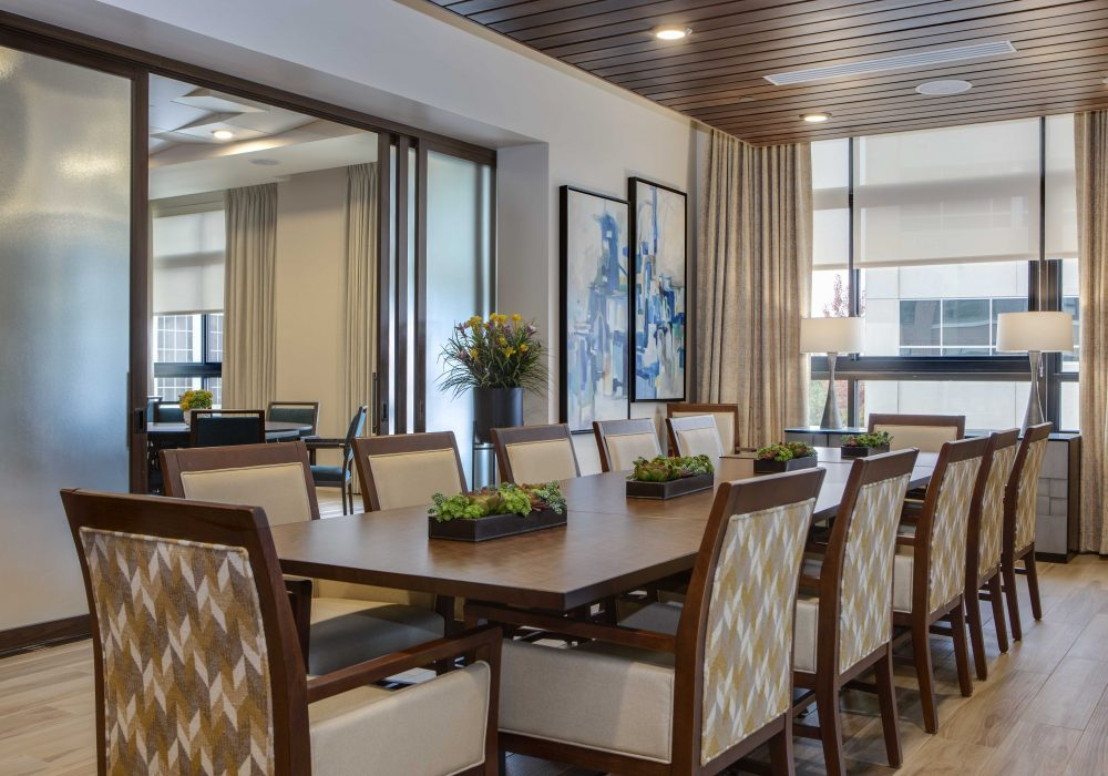 The Carillon at Belleview Station Private Dining Room