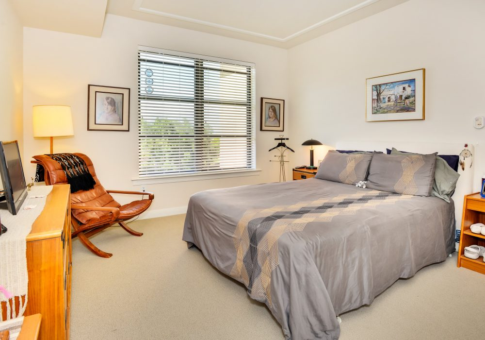 Bedroom - The Carillon at Boulder Creek Senior Apartments