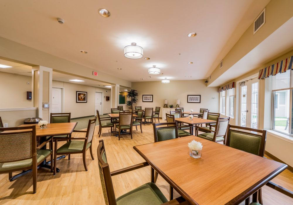 The Landing of O'Fallon Memory Care Dining