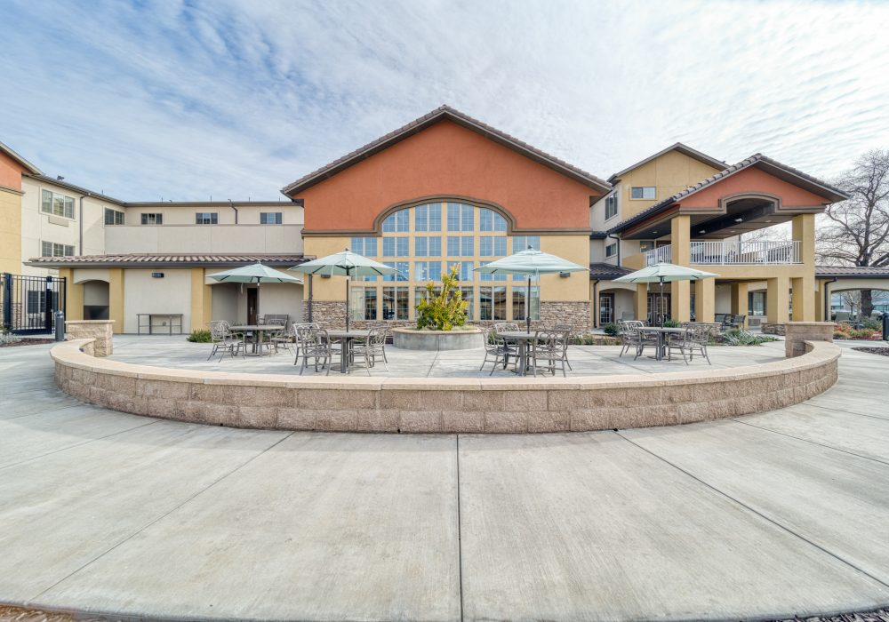 The Woodlake Patio Seating