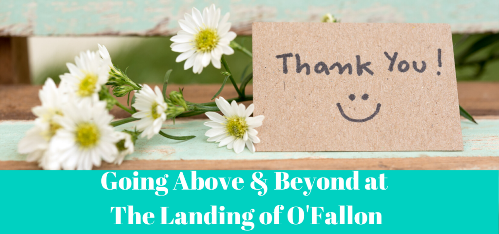 Landing Of Ofallon Thanks