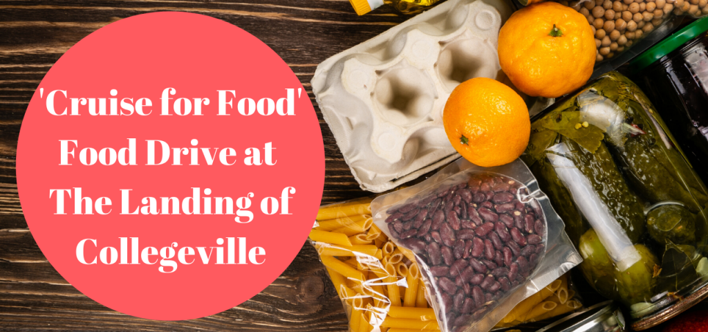 Cruise Food Drive Landing Of Collegeville