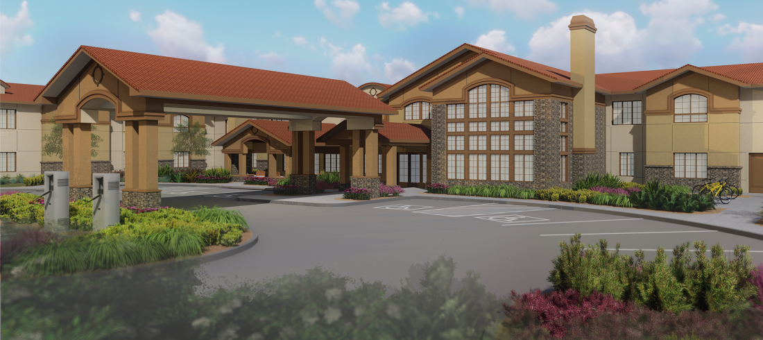 The Linden at Murrieta Entrance (Rendering)
