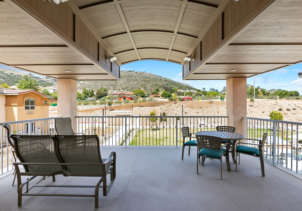 The Linden at Murrieta Balcony Seating