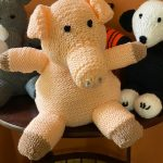 Knit Pig Donated for Hospice Care