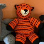 Knit Tiger Donated for Hospice