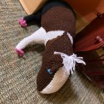 Donated Knit Horse