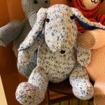 Knit Bunny Donated for Hospice