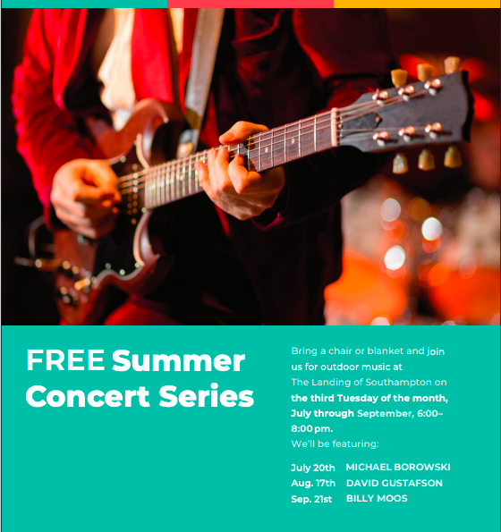 Free Summer Concert Series at The Landing of Southampton