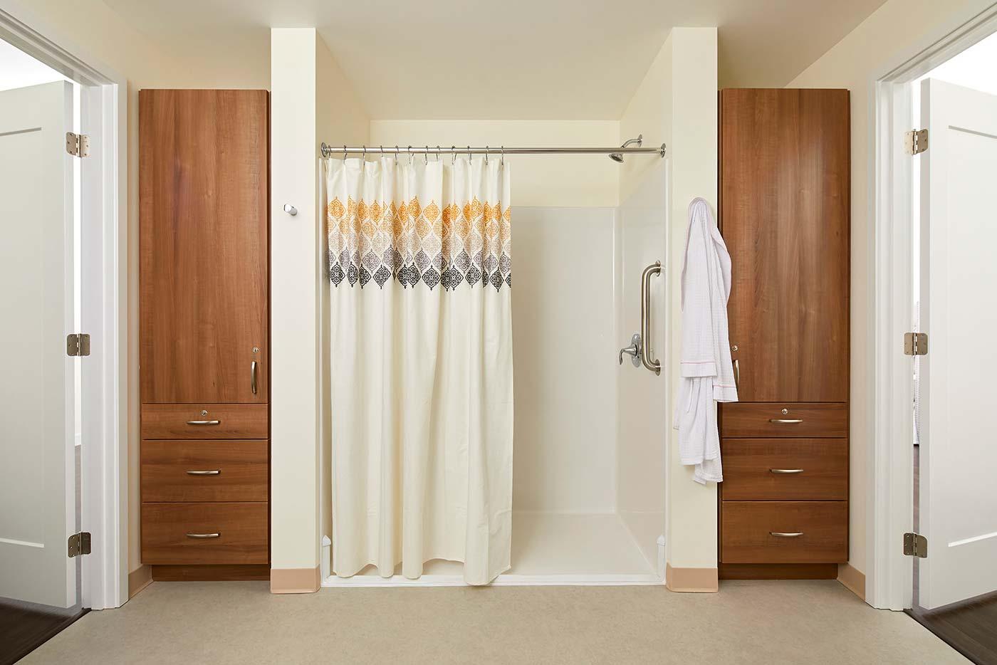 Model Bathroom - Murano Senior Living