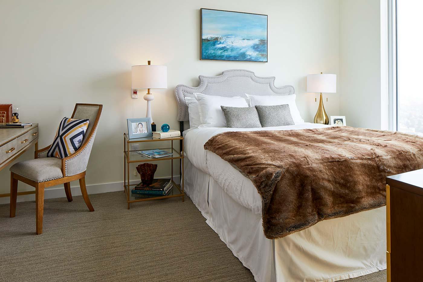 Model Bedroom - Murano Senior Living