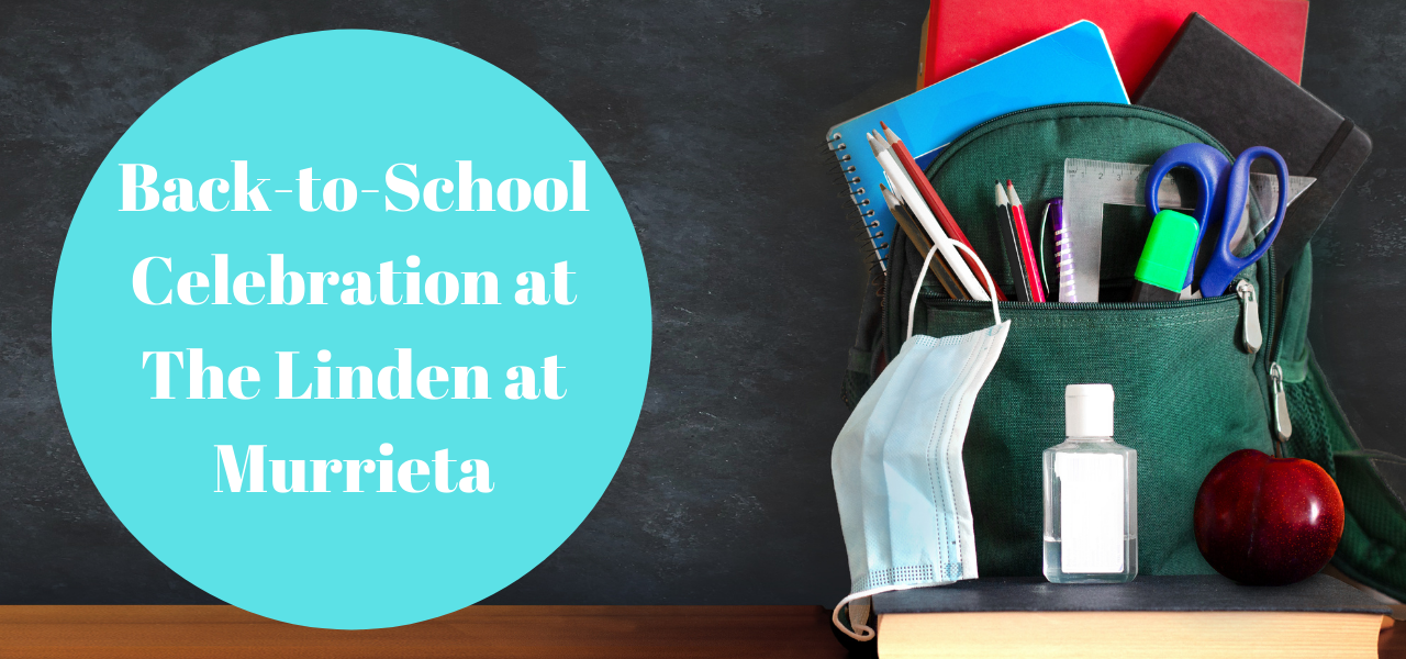 Back-to-School at The Linden at Murrieta